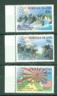 Norfolk Is: 1992   50th Anniv Of Battle Of Guadalcanal      MNH - Norfolk Island