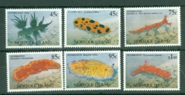 Norfolk Is: 1993   Nudibranchs     MNH - Norfolk Island