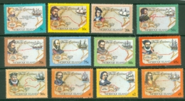 Norfolk Is: 1994   Pacific Explorers Set    SG562-573     MNH - Norfolk Island