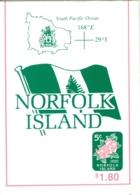 Norfolk Is: 1995   Flowers   SG SB7   MNH Booklet - Norfolk Island