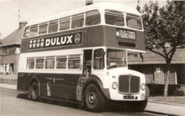 "·DuluxBux"" Nice Vintage English Real Photograph (no Postard Back) - Bus & Autocars"