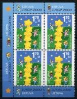 RC 13925 EUROPA 2000 LITUANIE BLOC DE 4 NEUF ** MNH - 2000