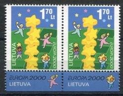 RC 13926 EUROPA 2000 LITUANIE BLOC DE 4 NEUF ** MNH - 2000