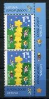 RC 13927 EUROPA 2000 LITUANIE BLOC DE 4 NEUF ** MNH - Europa-CEPT