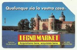 Italia - Tessera Telefonica Da 5.000 Lire N. 304 - Legno Market - Italia