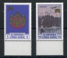 RC 13928 EUROPA 1999 MONTENEGRO PAIRE BDF NEUF ** MNH - Europa-CEPT
