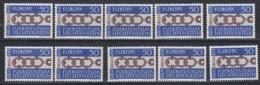 Europa Cept 1965 Liechtenstein 1v (10x) ** Mnh (44831) - Europa-CEPT