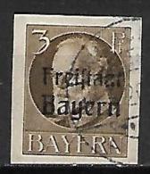 BAVIERE    -    1919.   Y&T N° 152 Oblitéré.   Non-dentelé - Bayern