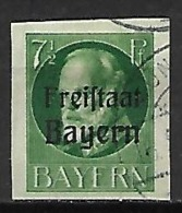 BAVIERE    -    1919.   Y&T N° 154 Oblitéré.   Non-dentelé - Bayern