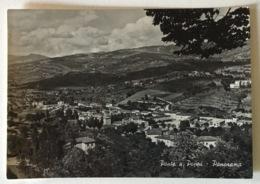 PONTE A POPPI ( AREZZO ) PANORAMA VIAGGIATA FG - Arezzo