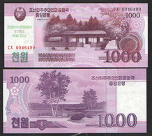KOREA NORTH  1000  2018г UNC - Corea Del Norte