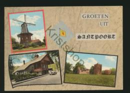 Santpoort - O.a. Molen  - Gelopen Met Postzegel [AA25 0.272 - Pays-Bas