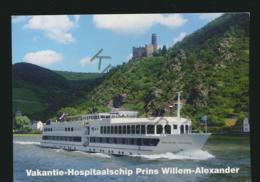 Vakantie-Hospitaalschip Prins Willem-Alexander  - Gelopen Met Postzegel [AA25 0.331 - Non Classés