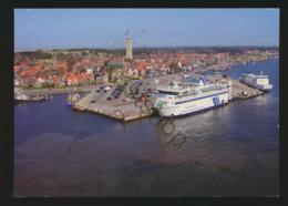 Terschelling - Haven Vanuit De Lucht  - Gelopen Met Postzegel [AA25 0.488 - Pays-Bas