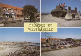 Westkapelle  - Gelopen Met Postzegel [AA25 0.799 - Zonder Classificatie