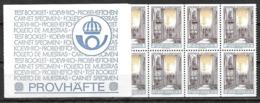 Suède 1967 épreuve Carnet Du N°559  Cathédrale D'Uppsala Par C. Slania - Markenheftchen