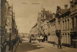 Antwerpen - Anvers // Place De Meir Met Fraaie Tram 19?? - Antwerpen