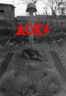 80 Somme AMIENS Tombe Allemande Wehrmacht 1940 Stahlhelm Nordfrankreich Bourdon Panzer Jäger Abteilung 9 - Guerra, Militari