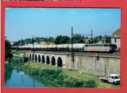 ORTHEZ 2001 TRAIN DE CITERNES A ORTHEZ CARTE EN TRES BON ETAT - Orthez