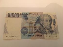 Billet 10 000 Lire Banca D'italia - 1984 Italie - [ 2] 1946-… : République