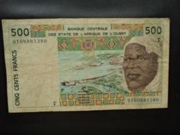 TOGO : 500 FRANCS   (19)91   P 810Ta     TTB - Togo