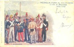 13131 - Bologna - La Medaglia D'oro Al Valor Militare F - Bologna
