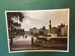 Cartolina Piazza Armerina - Viale Martire Fascista F. Sottosanti - 1941 - Enna