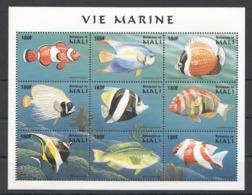 W799 DU MALI FISH & MARINE LIFE VIE MARINE 1KB MNH - Meereswelt