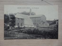 Solre-Saint-Gery - La Filature - Circulé: 1906 - 2 Scans. - Beaumont