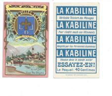 Chromo DIGNE LES BAINS La Bléone Pub: La Kabiline TB - Otros