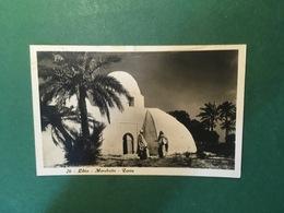 Cartolina Libia - Marabutto - Zavia - 1932 Ca. - Cartoline