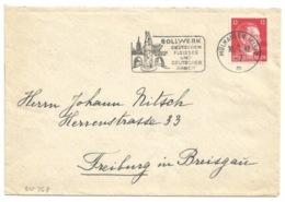 SK368 - MULHAUSEN (ELS) 2 - 1942 - Flamme Illustrée BOLLWERK - - Elsass-Lothringen