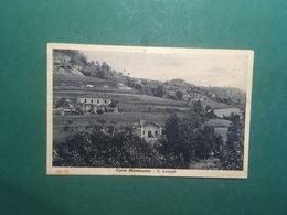 Cartolina Cairo Montenotte - S. Lazzaro - 1920 Ca. - Savona