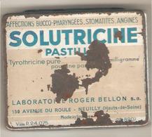 BOITE METALLIQUE SOLUTRICINE (en L'état) - Boxes