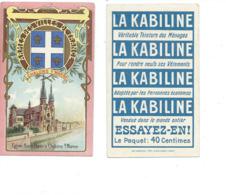 Chromo CHALONS SUR MARNE Chalons En Champagne Eglise Notre-Dame La Marne Pub: La Kabiline TB - Otros