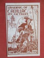 Landing Of Cadillac At Detroit  1701-1951       Ref 3642 - History