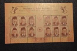 Mp 2015 ++ INDONESIE INDONESIA 2015 PRESIDENTS MNH ** - Indonesië