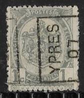 Ypres 1907 Nr. 902Azz - Precancels