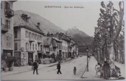 ALBERTVILLE - Quai Des Allobroges - CPA 1908 - Albertville