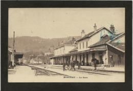 CPA Doubs 25 Morteau écrite La Gare Chemin De Fer - France