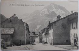 LANSLEBOURG (Savoie) - La Dent Parrachée - CPA 1908 - Autres Communes