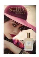 Cartes Parfumées   Carte  FLEUR DE ROSE  De  SOULEIADO   RECTO VERSO - Modern (vanaf 1961)