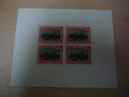 (27.09) BELGISCH CONGO *  1937   BLOK 1 - Blocs