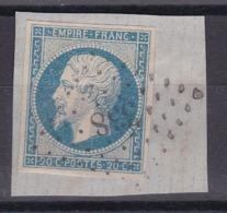 CP 115 / NAPOLEON N° 14 OBL - 1853-1860 Napoleon III