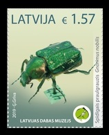 Latvia 2019 Mih. 1069 Fauna. Beetle. Noble Chafer MNH ** - Lettonie