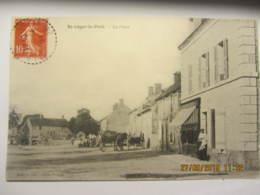 Cpa SAINT LEGER LE PETIT (18)  La Place - France