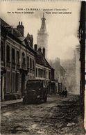 CPA CAMBRAI - Pendant L'incendie (190604) - Cambrai