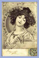CPA -  - 156. Portrait De Femme - Illustration - Women