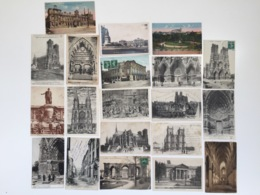 Lot De 20 Cartes Anciennes De REIMS - Cartes Postales