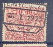 K328 -België  Spoorweg Chemin De Fer Met Stempel CHATELINEAU - Bahnwesen
